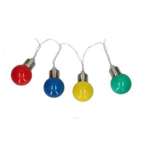 Lichtsnoer Party lights 10 leds 165 cm
