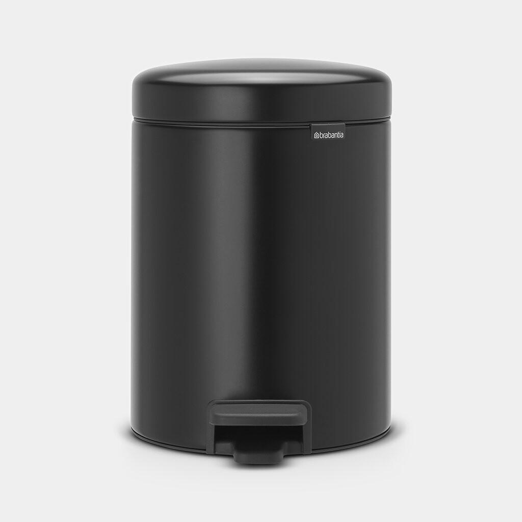 Pedaalemmer newIcon BRABANTIA 5 liter mat zwart