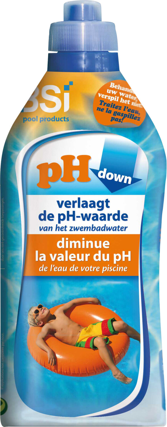 pH Downzwembad 1 liter