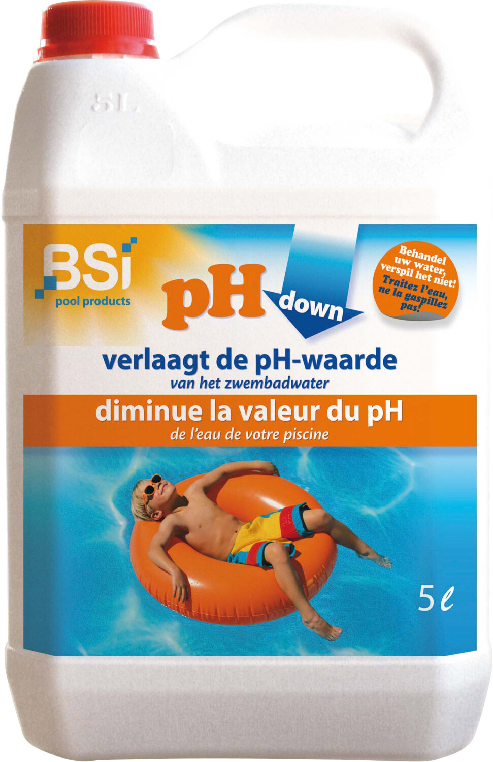 pH Downzwembad 5 liter