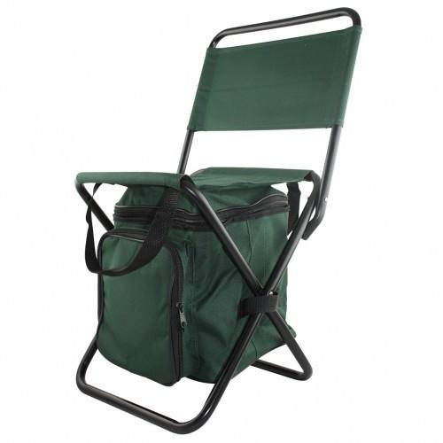 Picknickstoel met koeltas en bestek