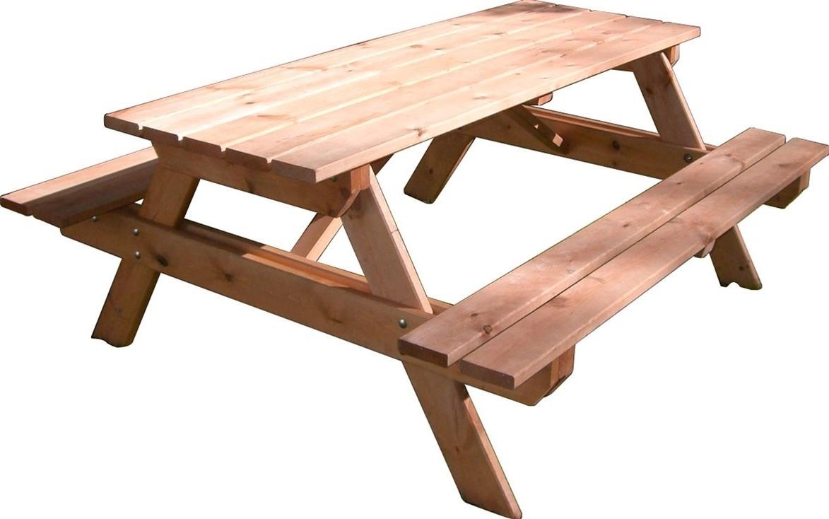 Goede Aanbieding: Picknicktafel Inklapbaar Defa Aluminium Hout | Defa TK-99