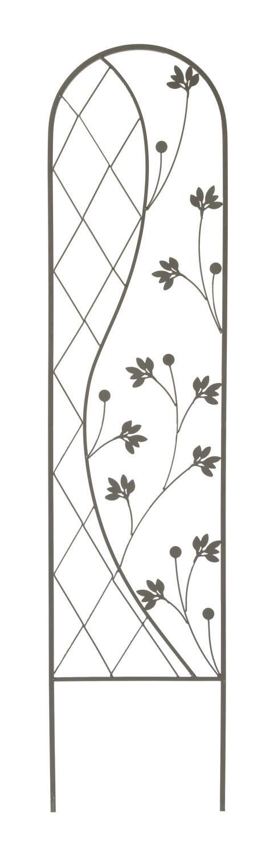 Plantensteun Ying en Yang antraciet 35 x 150 cm