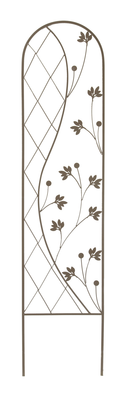 Plantensteun Ying en Yang bruin 35 x 150 cm