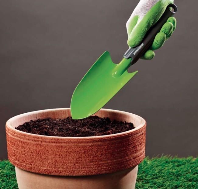 Plantschop met kunststof handgreep 31 cm