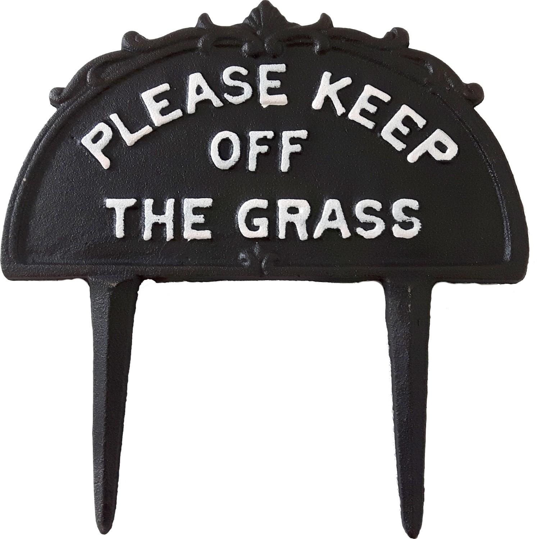 Please keep off the grasstuinprikker