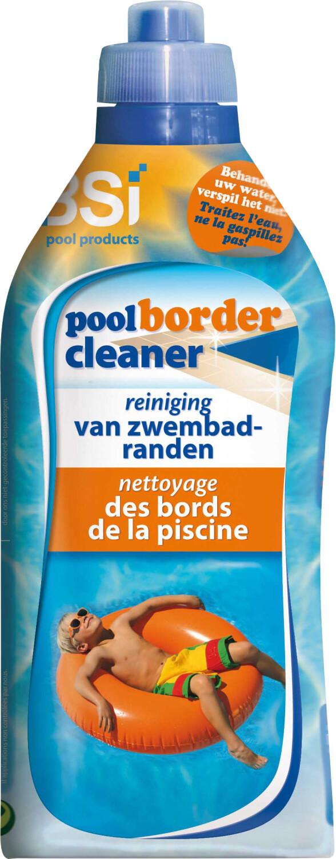 Pool border cleanerrand zwembad reinigen