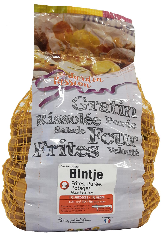 Pootgoed aardappelen Bintje France 3 kg