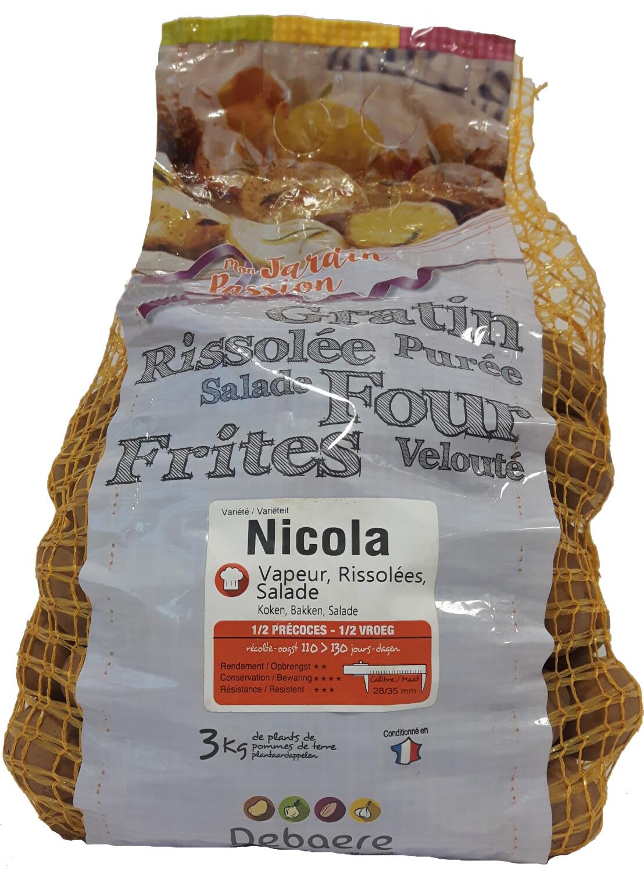 Pootgoed aardappelen Nicola Hollande 3 kg