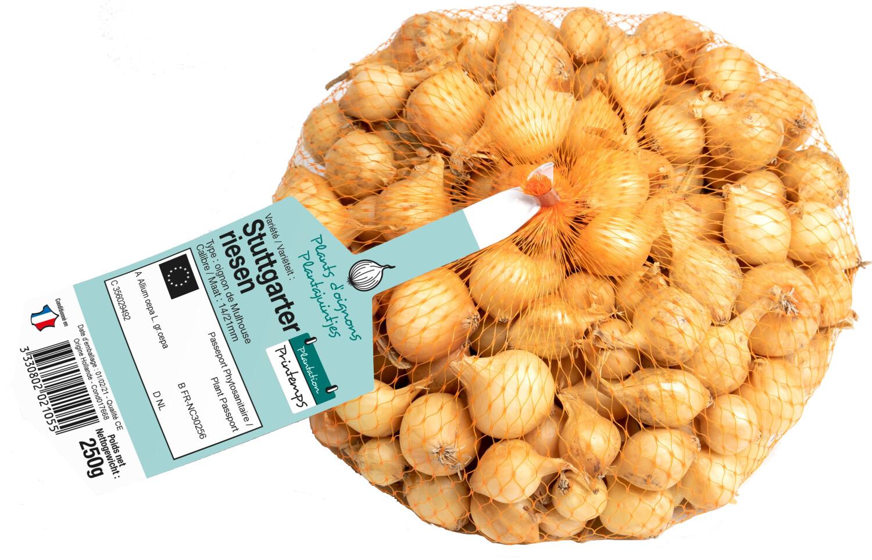 Pootgoed uien Stuttgarter Riezen 250 gr