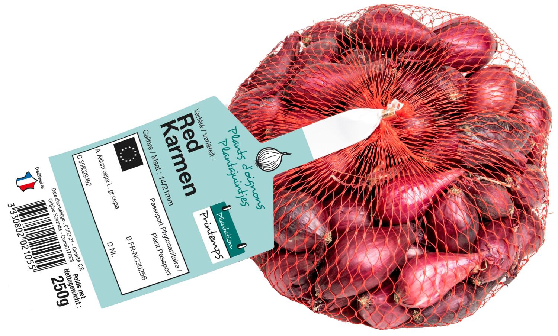 Pootgoed uien Red Karmen 250 g