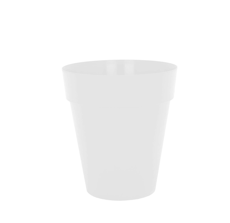 Bloempot Capri hoog 56 cm wit