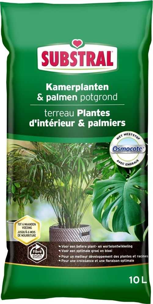 Potgrond kamerplanten en palmen 10 liter