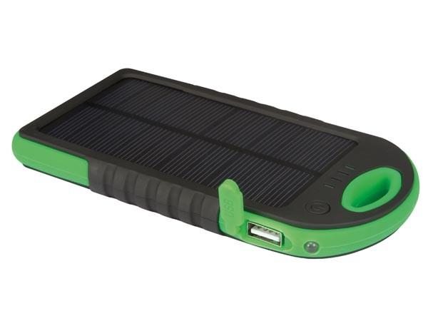 Mobiele oplader op zonneenergiepowerbank