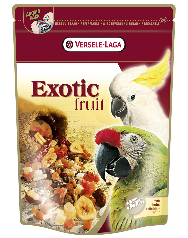Prestige Premium exotic fruit voor papegaaien 600 g