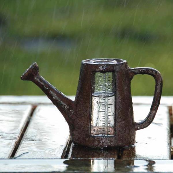 Regenmeterpluviometer gieter