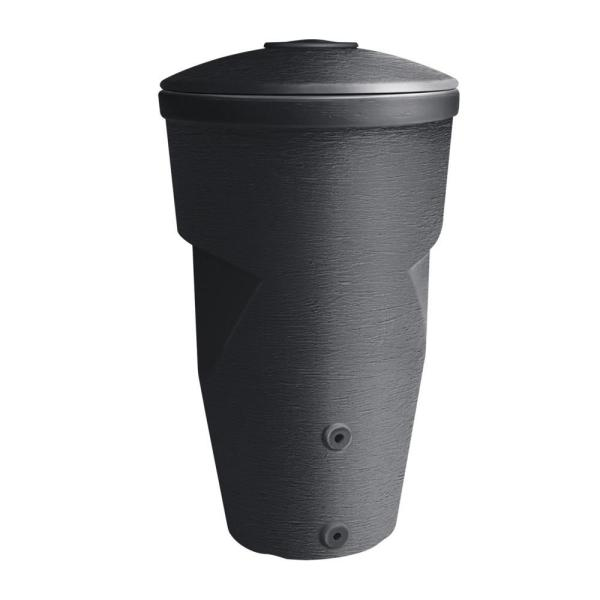 Regenton antraciet 270 liter