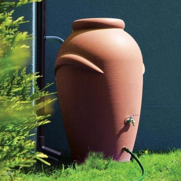 Regenton terracotta 360 liter