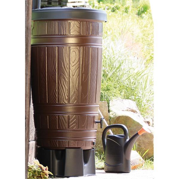 Regenton Woody met houtlook 265 liter