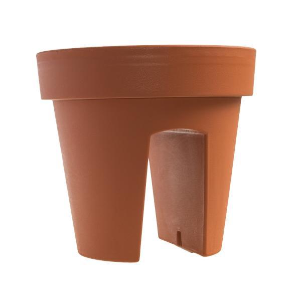 Reling bloempot terracotta Lofly 5 liter