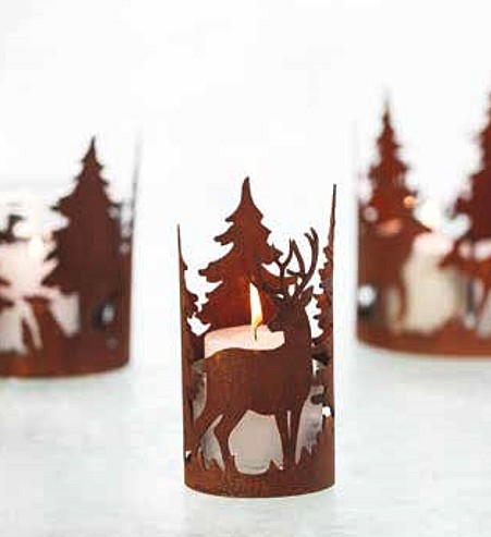 Kaarsring Forest 10 cm