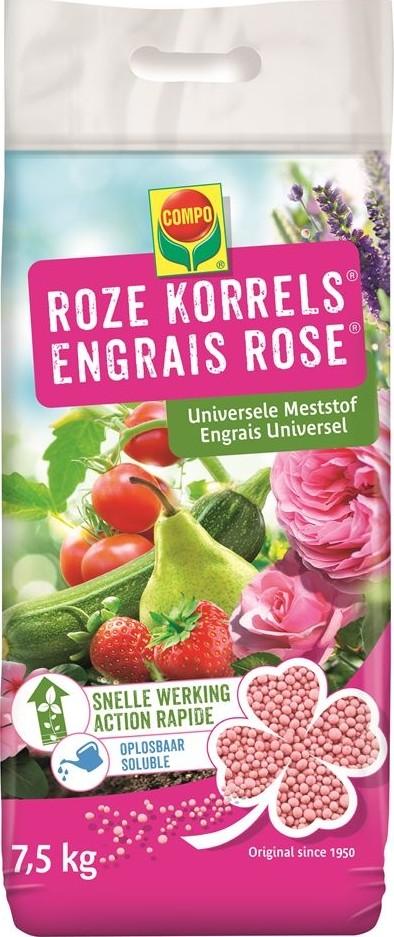 Roze korrels universele meststof 75 kg