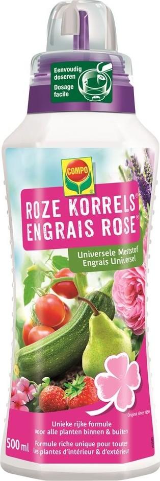Roze korrels vloeibare mest 500 ml