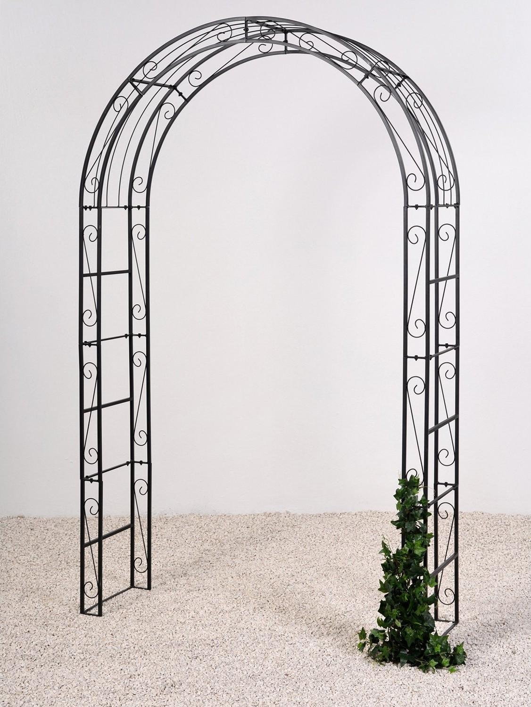 Rozenboog Line zwart H 260 cm