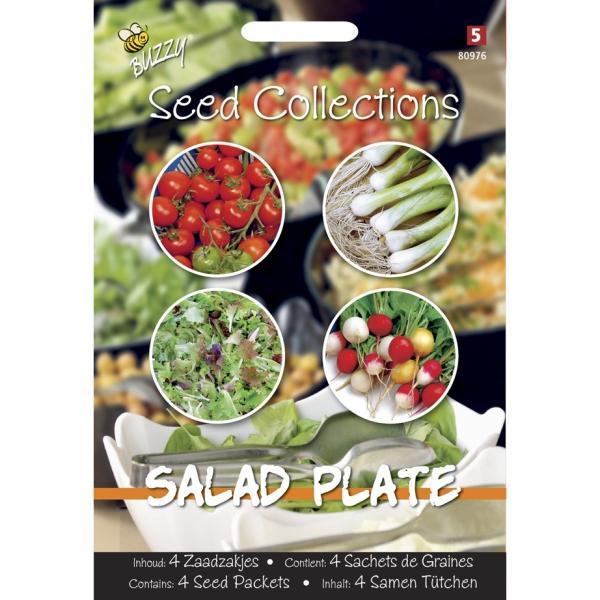 Salad Plate mix4 zaadzakjes
