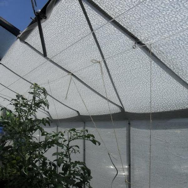 Schaduwdoek wit 12 x 5 meter