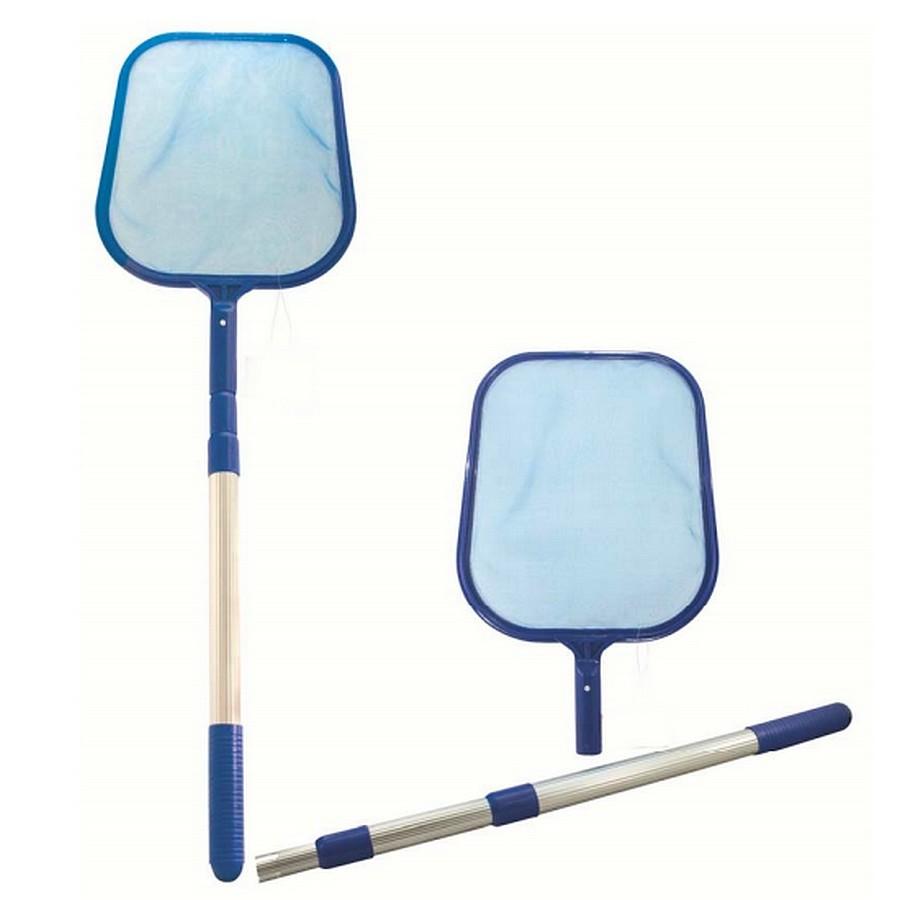 Schepnet met uitschuifbare steel voor zwembad of vijver