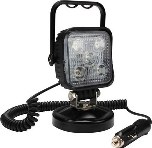 Werklamp led met magnetische voet voor auto
