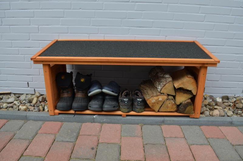 Schoen en laarzenrek voor buiten