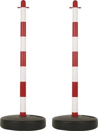Signalisatiepalen voor ketting