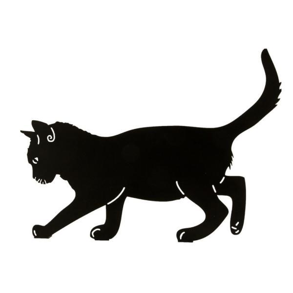 Silhouette balancerende katdecoratief