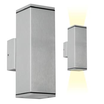 Wandlamp Kelvin alu - up'n downlighter