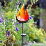 Lichtbol vlam solarlamp