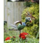 Papegaai Twirly op pin - metaal