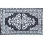 Tuintapijt Perzisch zwart/wit 180 x 120cm