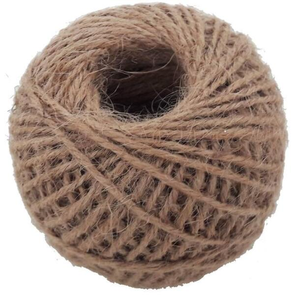 Jute touw naturel 50 g