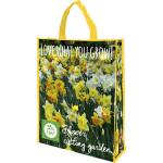 Shopping Bag Narcissen mix 'Love what you Grow'