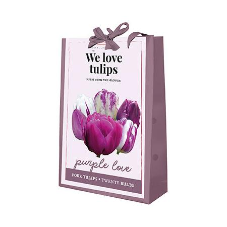 Tulpenmix 'We Love Tulips Purple Love'