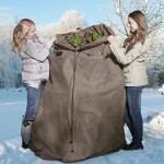 Winterbescherming thermocover 120 x 250 cm - grijs