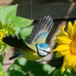 Vliegende pimpelmees - handgemaakt