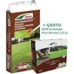 DCM Gazonmest Najaar 10 kg + tijdelijk GRATIS DCM Graszaad Plus Herstel 225 g