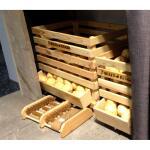 Aardappelkrat in hout