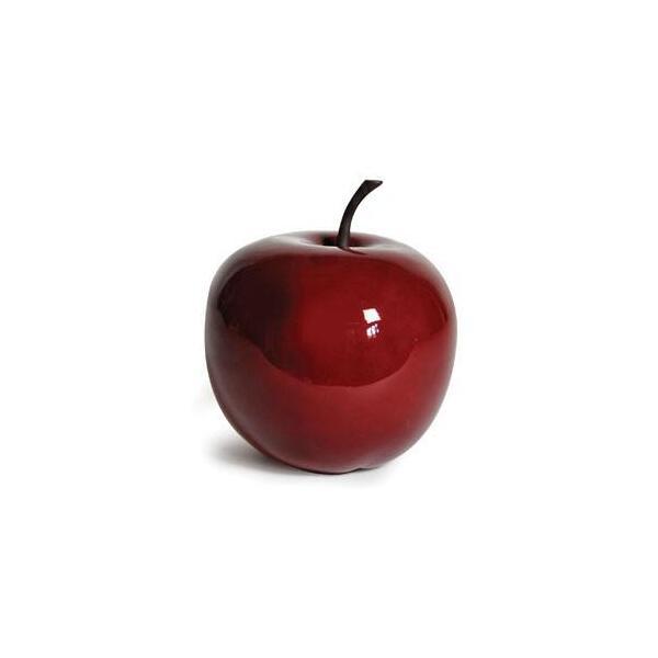 appel in polyresin rood appel decoratie beelden