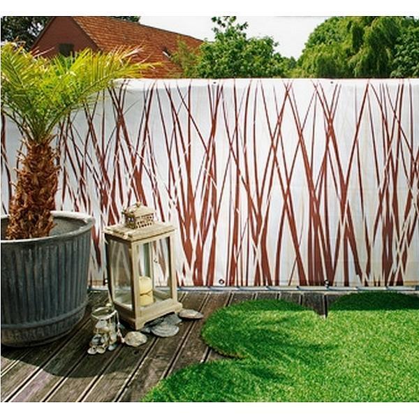 Balkonscherm style 90 x 300 cm kopen de ballustrade versieren tuinadvies - Terras versieren ...