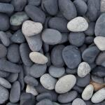 Beach Pebbles zwart 5/8 - 8/16 - 16/25 big bag ca. 0,7 m³