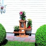 Bloemenstandaard grenenhout
